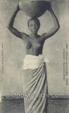 afr001948 - African Nude Nudes Postcard Post Card