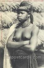afr001952 - African Nude Nudes Postcard Post Card