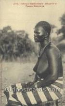 afr001954 - African Nude Nudes Postcard Post Card