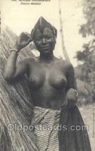 afr001955 - African Nude Nudes Postcard Post Card