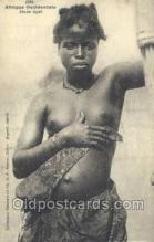 afr001958 - African Nude Nudes Postcard Post Card