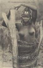 afr001960 - African Nude Nudes Postcard Post Card