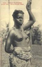 afr001970 - African Nude Nudes Postcard Post Card
