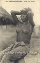 afr001975 - African Nude Nudes Postcard Post Card