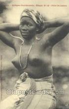 afr001977 - African Nude Nudes Postcard Post Card