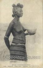 afr001980 - African Nude Nudes Postcard Post Card