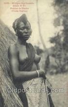 afr001982 - African Nude Nudes Postcard Post Card