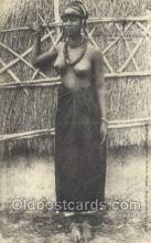 afr001983 - African Nude Nudes Postcard Post Card