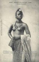 afr001984 - African Nude Nudes Postcard Post Card