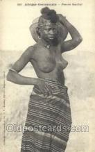 afr001988 - African Nude Nudes Postcard Post Card