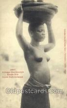 afr001989 - African Nude Nudes Postcard Post Card