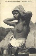 afr001990 - African Nude Nudes Postcard Post Card