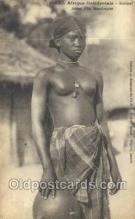 afr002001 - African Nude Nudes Postcard Post Card