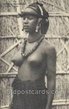afr002002 - African Nude Nudes Postcard Post Card