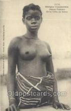 afr002003 - African Nude Nudes Postcard Post Card
