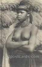 afr002006 - African Nude Nudes Postcard Post Card