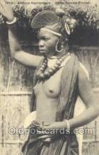 afr002007 - African Nude Nudes Postcard Post Card