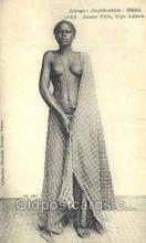 afr002008 - African Nude Nudes Postcard Post Card