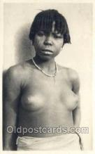 afr002015 - African Nude Nudes Postcard Post Card