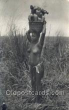 afr002017 - African Nude Nudes Postcard Post Card
