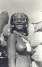 afr002023 - African Nude Nudes Postcard Post Card