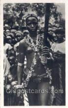 afr002025 - African Nude Nudes Postcard Post Card