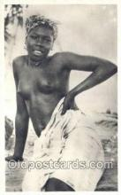 afr002029 - African Nude Nudes Postcard Post Card