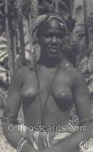 afr002031 - African Nude Nudes Postcard Post Card