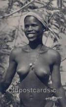 afr002034 - African Nude Nudes Postcard Post Card