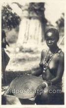 afr002035 - African Nude Nudes Postcard Post Card