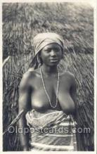 afr002038 - African Nude Nudes Postcard Post Card