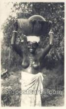 afr002039 - African Nude Nudes Postcard Post Card