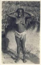 afr002040 - African Nude Nudes Postcard Post Card