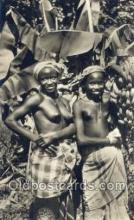 afr002045 - African Nude Nudes Postcard Post Card