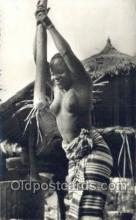 afr002047 - African Nude Nudes Postcard Post Card