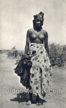 afr002051 - African Nude Nudes Postcard Post Card