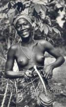 afr002055 - African Nude Nudes Postcard Post Card
