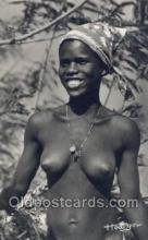 afr002061 - African Nude Nudes Postcard Post Card