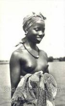 afr002066 - African Nude Nudes Postcard Post Card
