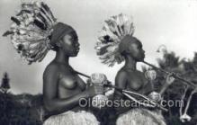 afr002072 - African Nude Nudes Postcard Post Card