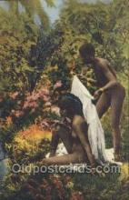 afr002073 - African Nude Nudes Postcard Post Card