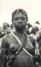 afr002078 - African Nude Nudes Postcard Post Card