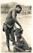 afr002079 - African Nude Nudes Postcard Post Card
