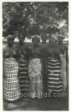 afr002080 - African Nude Nudes Postcard Post Card