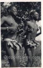 afr002083 - African Nude Nudes Postcard Post Card