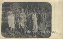afr002094 - African Nude Nudes Postcard Post Card