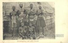 afr002095 - African Nude Nudes Postcard Post Card