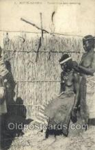 afr002103 - Gambia African Nude Nudes Postcard Post Card