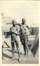 afr002109 - Egypt African Nude Nudes Postcard Post Card