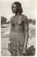 afr002114 - Eritrea African Nude Nudes Postcard Post Card